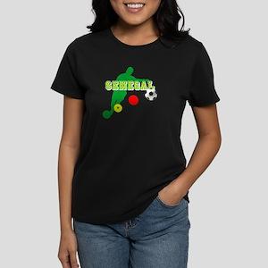 Senegal Soccer Women's Dark T-Shirt