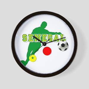 Senegal Soccer Wall Clock