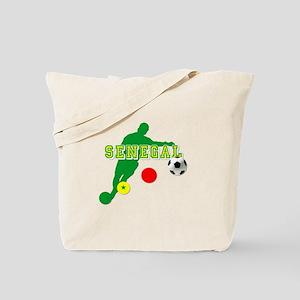 Senegal Soccer Tote Bag