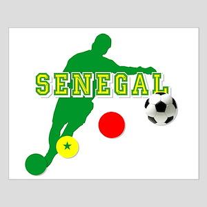 Senegal Soccer Small Poster