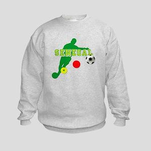 Senegal Soccer Kids Sweatshirt
