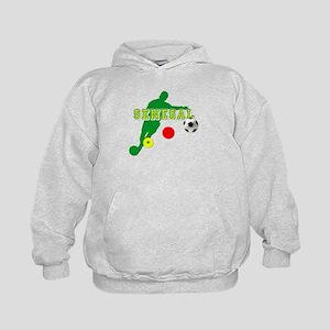 Senegal Soccer Kids Hoodie
