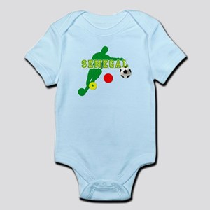 Senegal Soccer Infant Bodysuit