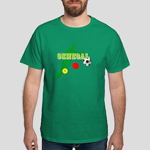 Senegal Soccer Dark T-Shirt