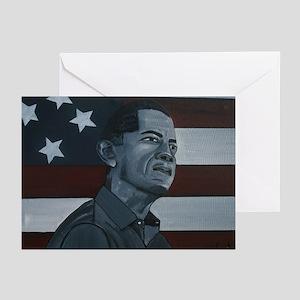 Barack Obama Greeting Cards