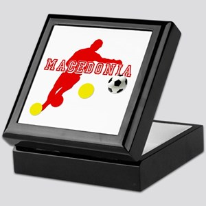 Macedonia Red Lions Keepsake Box