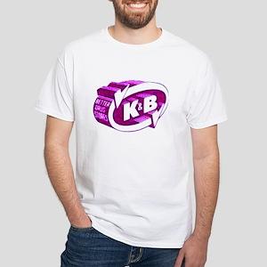 K & B White T-Shirt