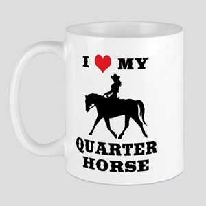 I Heart My Quarter Horse Mug