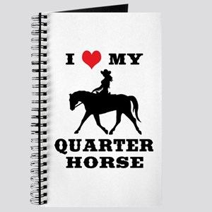 I Heart My Quarter Horse Journal