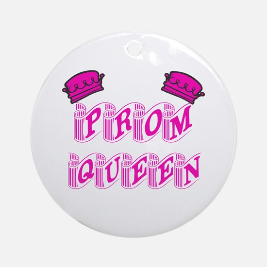 Prom Queen Ornament (Round)