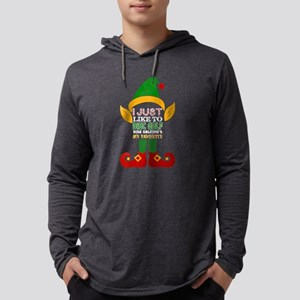 I Just Like To Disc Golf Disc Long Sleeve T-Shirt