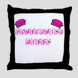 Homecoming Queen Throw Pillow