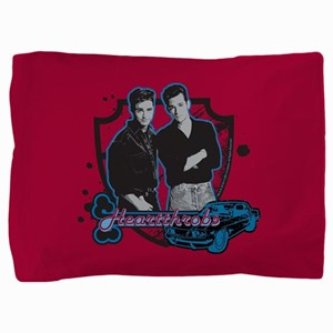 90210 Heartthrobs Pillow Sham