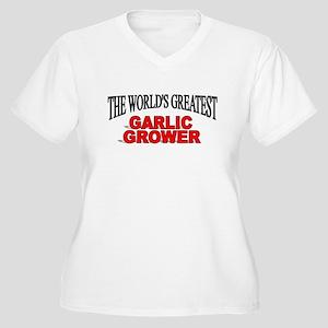 """The World's Greatest Garlic Grower"" Women's Plus"
