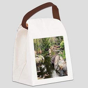 Himeji Japanese garden, Adelaide  Canvas Lunch Bag
