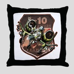 A10 Hawgin Throw Pillow