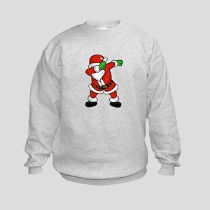 Santa Claus dab dance ugly christmas T- Sweatshirt