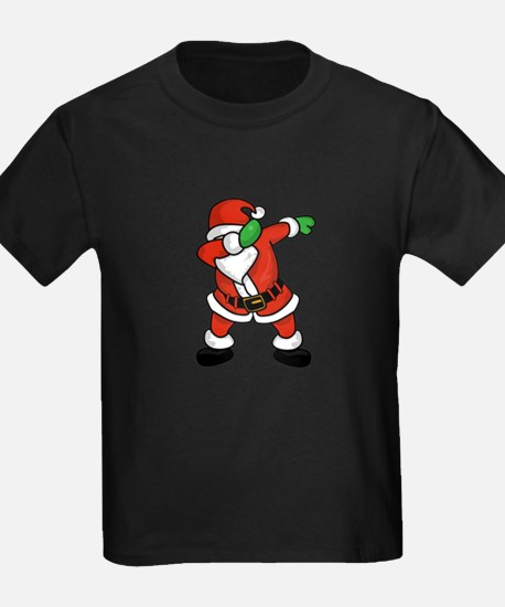 Santa Claus dab dance ugly christmas T-shi T-Shirt