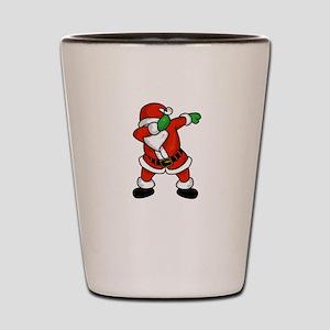 Santa Claus dab dance ugly christmas T- Shot Glass