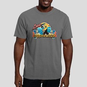 90210 Love Dangerously! Mens Comfort Colors Shirt