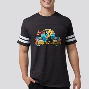 90210 Love Dangerously! Mens Football Shirt