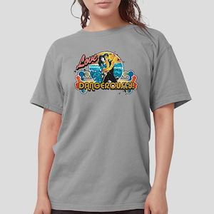 90210 Love Dangerously Womens Comfort Colors Shirt