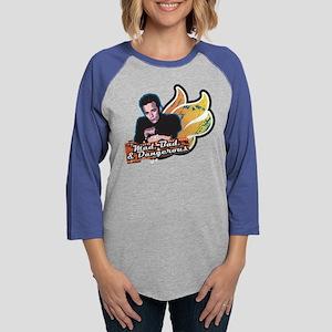 90210 Mad Bad & Dangerous Womens Baseball Tee
