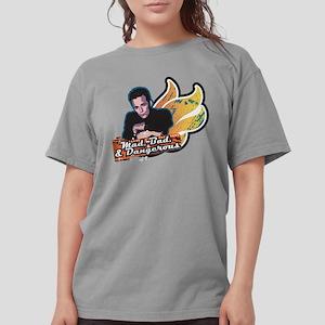 90210 Mad Bad & Danger Womens Comfort Colors Shirt