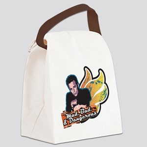 90210 Mad Bad & Dangerous Canvas Lunch Bag