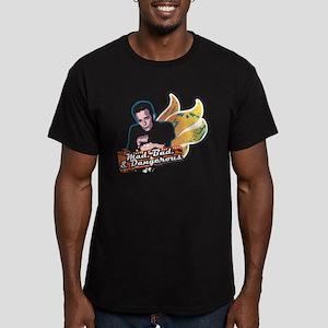 90210 Mad Bad & Danger Men's Fitted T-Shirt (dark)