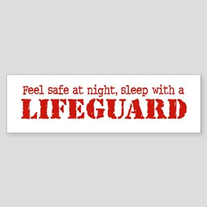 Feel Safe with a Lifeguard Bumper Sticker