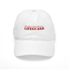 Feel Safe with a Lifeguard Baseball Cap