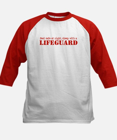 Feel Safe with a Lifeguard Kids Baseball Jersey