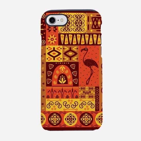 African Traditional Ornament iPhone 7 Tough Case