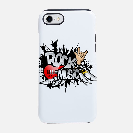 Rock Music iPhone 7 Tough Case
