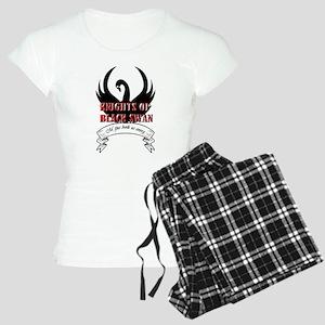 Black Swan Knight Logo Pajamas