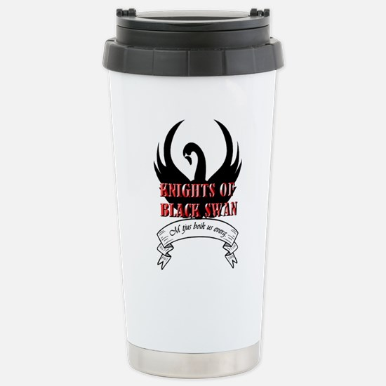 Black Swan Knight Logo Mugs 16oz