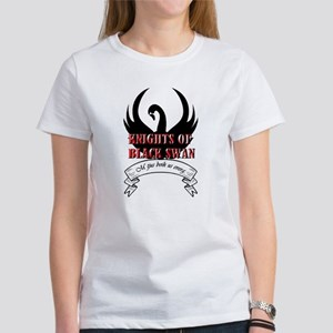 Black Swan Knight Logo T-Shirt