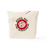 Kiss Me I'm Kosher Tote Bag