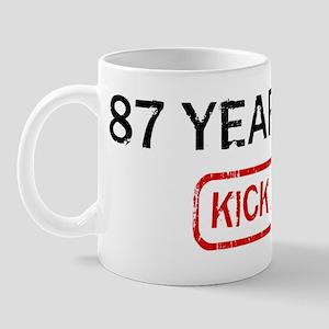 87 YEAR OLDS kick ass Mug