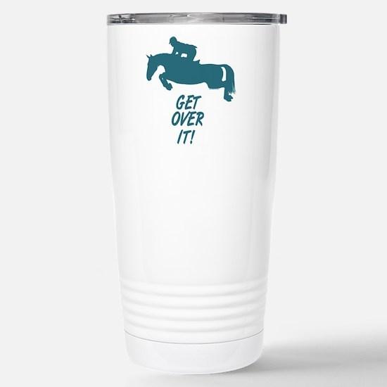 Get Over It. Hunter Jumper Large Mugs