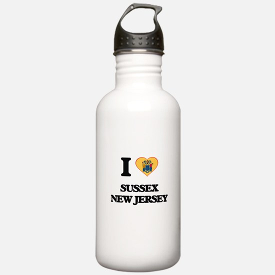 I love Sussex New Jers Water Bottle