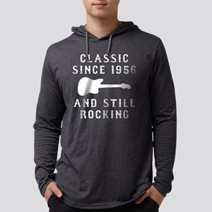 Classic Since 1956 and Still Roc Mens Hooded Shirt