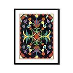Folkart Framed Panel Print