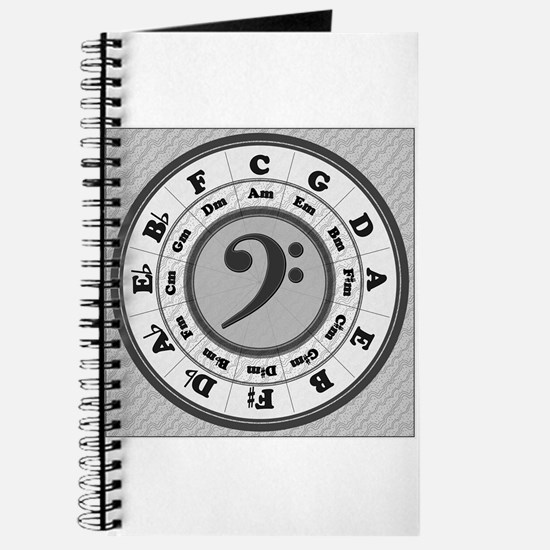 Bass Clef Circle of Fifths Journal