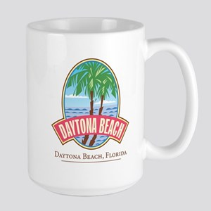 Retro Daytona Beach - Large Mug