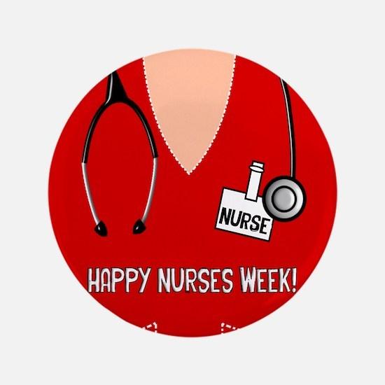 Happy Nurses Week Button