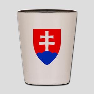 Slovakia Ice Hockey Emblem - Slovak Rep Shot Glass