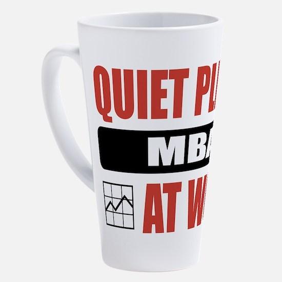 Cute Mba funny 17 oz Latte Mug
