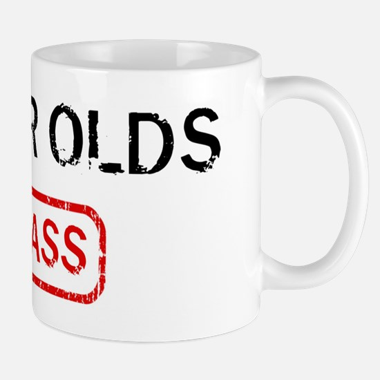 66 YEAR OLDS kick ass Mug